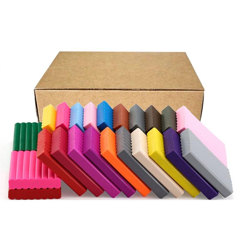 36 couleurs enfants cuit fimo argile/sculpey modélisation d'argile de polymère/doux pâte à modeler, enfants jouets éducatifs, livraison gratuite