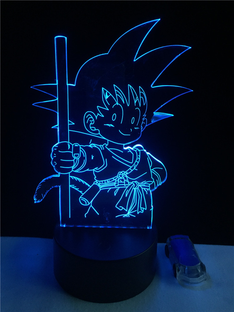 Luzes da Noite mais novo super dragon ball Function 3 : Stage Lighting Effect/wedding Decor/house Decoration