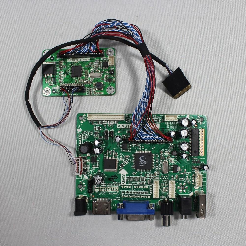 HDMI VGA AV Audio USB FPV Controller board for 14inch  B140HAN01.2 1920x1080 EDP LCD screen model lcd for Raspberry Pi
