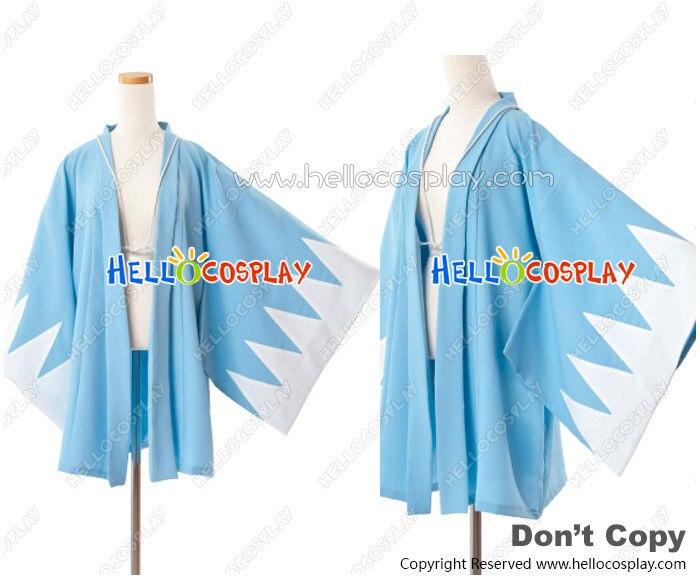 Hakuoki Hakuouki Shinsengumi Kitan Cosplay Shinsengumi Costume de manteau bleu H008