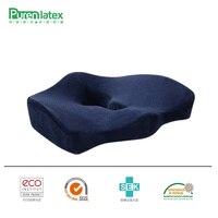 PurenLatex 45 40 10 Orthopedic Coccyx Memory Foam Chair Pillow Office Seat Pad Car Seat Wheelchair