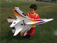 Новый DIY большой RC истребитель Su 27 Фланкер RC самолет мощный бомбер светодио дный 2,4 г KT board пульт дистанционного управления Самолет DIY Avion