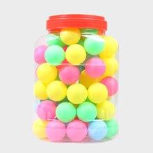 Мячи для пинг-понга Ассорти безщеточные настольные теннисные пластиковые шарики оптом пластиковые бесшовные украшения сенсорные лотерейные шарики Рисование пива понг