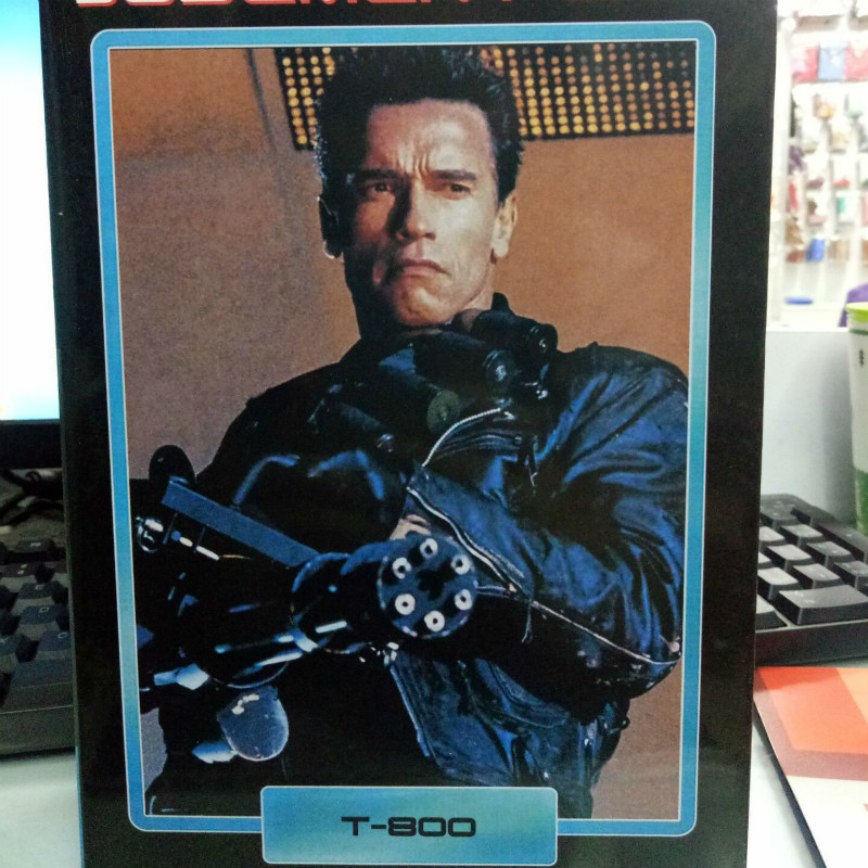 NECA 8 Inch Boxed T800 Arnold Final This Luxury Edition Heavy Weapon Action & Toy Figures Anime Figure Kids Gift Decoration