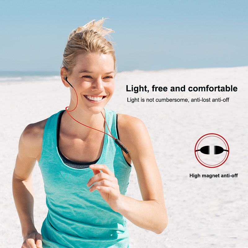 Sports Bluetooth Earphones Stereo Earbuds with Mic Handsfree Bluetooth Earphones for Lenovo P2 P70 P780 B50 70