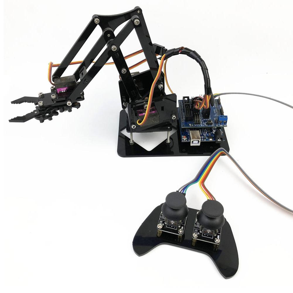 Acrylique Bras Robotique Pince Griffe bricolage Assemblage Éducatif Kit D'accessoires