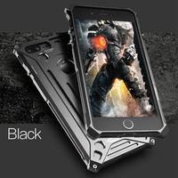 For Iphone 5 6 S 7 Plus Aluminum Alloy Metal Shockproof Anti Knock Bumper Luxury Phone