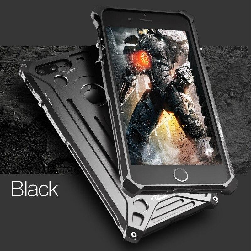 imágenes para Para el iphone 5 6 S 7 Plus de Aleación de Aluminio de Metal A Prueba de Golpes Anti-Golpe 5S de Parachoques Caso de la Cubierta Del Teléfono de Lujo Para el iphone 6 s plus Shell