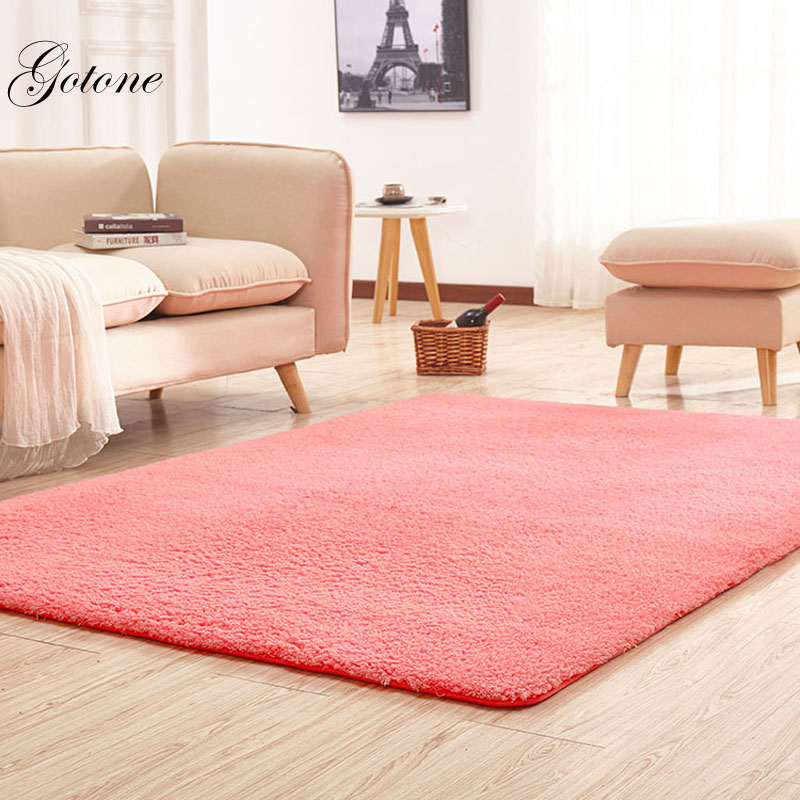 New lambskin Bedroom Carpet Square Mat Living Room Bathroom Kitchen ...