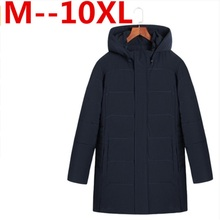 10XL 8XL 6XL 5XL 4XL Winter Jacket Men Parkas Male Coat And Casual brand Cotton Padded Hooded Overcoat Warm Long Jackets For Man