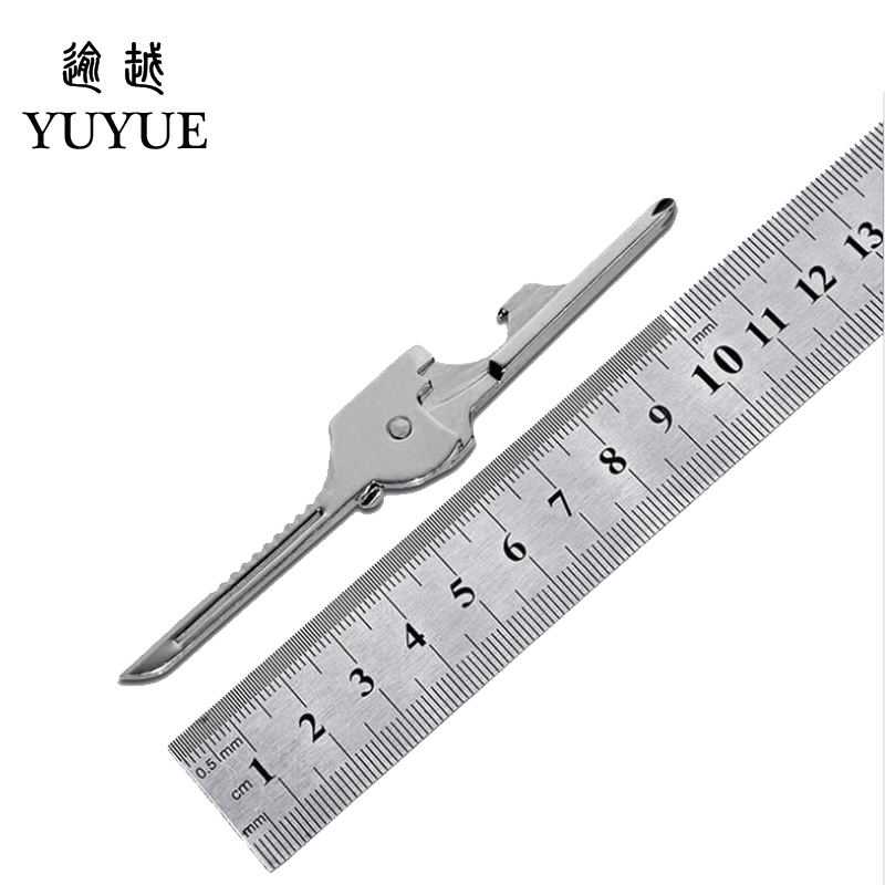 Hot EDC Pocket Multi Tools Pincer Pliers Bottle Opener Screwdriver For Spectacle 6 Fuctions Outdoor Camping Survival EDC Tool  3