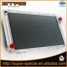 Apto para subaru wrx gc8 radiador de alumínio de corrida de alto desempenho para impreza wrx sti gc8 92-00 radiador do carro