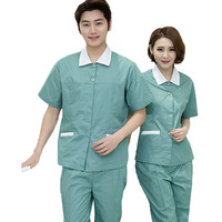 Women's Scrubs Set Contrasting Color Design Medical Nursing Uniform Nurses Accessories Hospital Uniform