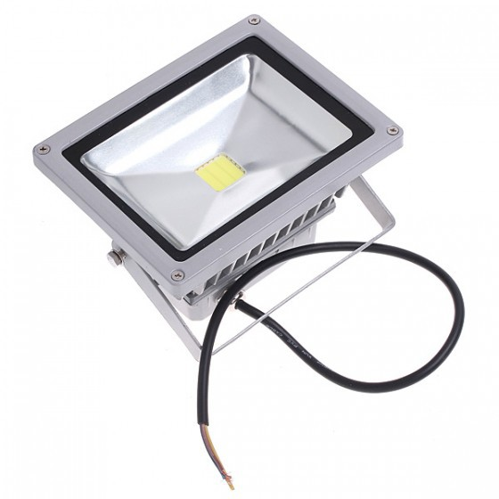 Free Ship 20W 85 264V IP65 1800LM 6500 7000K White