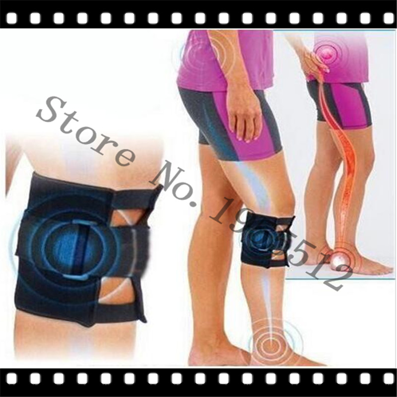 Free Shipping 4pcs=4bags Pressue Point Knee Leg Brace Back Pain Acupressure Sciatic Nerve Pads Sciatic Nerve Health Care OEM