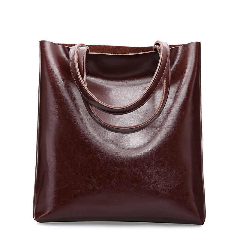 82aea9214466 100% натуральная кожа сумка большая женская кожаная сумка знаменитая  Брендовая женская сумка-мессенджер большая