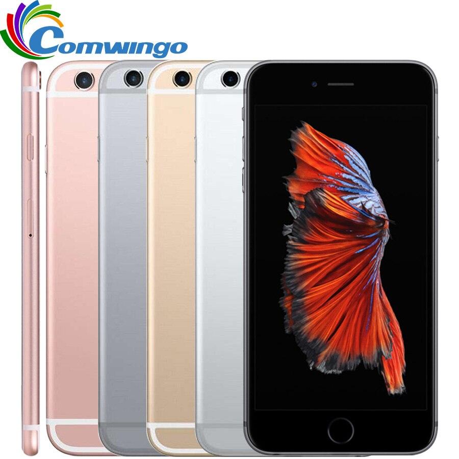 Apple-teléfono inteligente iPhone 6S, teléfono móvil Original libre con 2GB RAM, 16 GB/64 GB/128GB ROM, IOS, Dual Core, cámara de 12.0MP, pantalla de 4,7 pulgadas, 4G LTE A9, iPhone 6s KERUI WIFI endoscopio cámara Mini impermeable suave Cable inspección Cámara 8mm 1M USB endoscopio boroscopio IOS endoscopio para Iphone