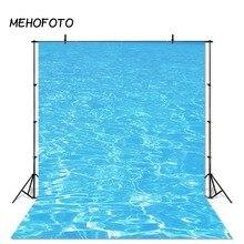 MEHOFOTO фон бассейна Летняя Вечеринка украшения фотографии фоны синий фон воды для фотостудии фоны