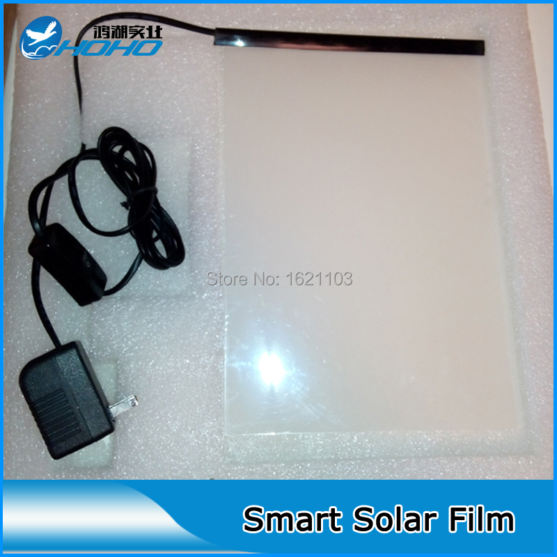 Self Adhesive Smart Film, Switchable Glass Film for Building Window 100 x 100cm