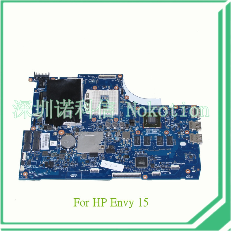 NOKOTION 720566-501 720566-001 for HP ENVY 15 15T-J000 15T-J100 Motherboard GeForce GT740M 2GB DDR3L nokotion 720566 501 720566 001 laptop motherboard for hp envy 15 15t j000 15t j100 hm87 ddr3l gt740m 2gb gpu