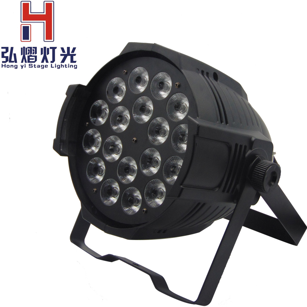 1PCS par led rgbw 4in1 18x12w Lamps RGBW LED Par Light For Disco Party DJ LED Projector Stage Strobe Lighting Effect цена и фото