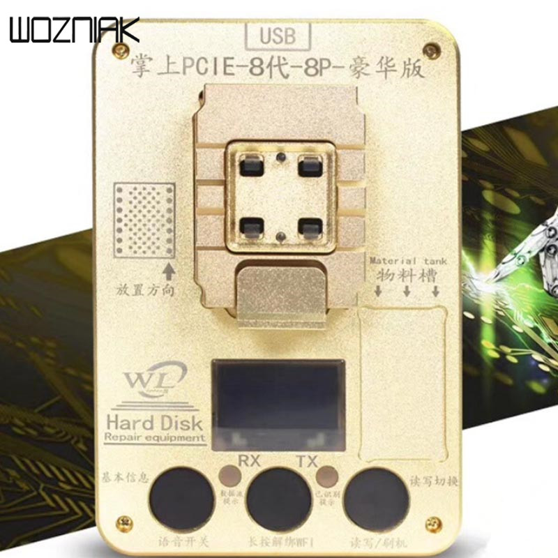 WL 64 Bit IC Chip Programmer 64 hard disk test for iphone hard disk repair instrument for iPhone5s / 6 /6plus for ipad change SN чехлы накладки для телефонов кпк other 6 6plus iphone5s 4 4s