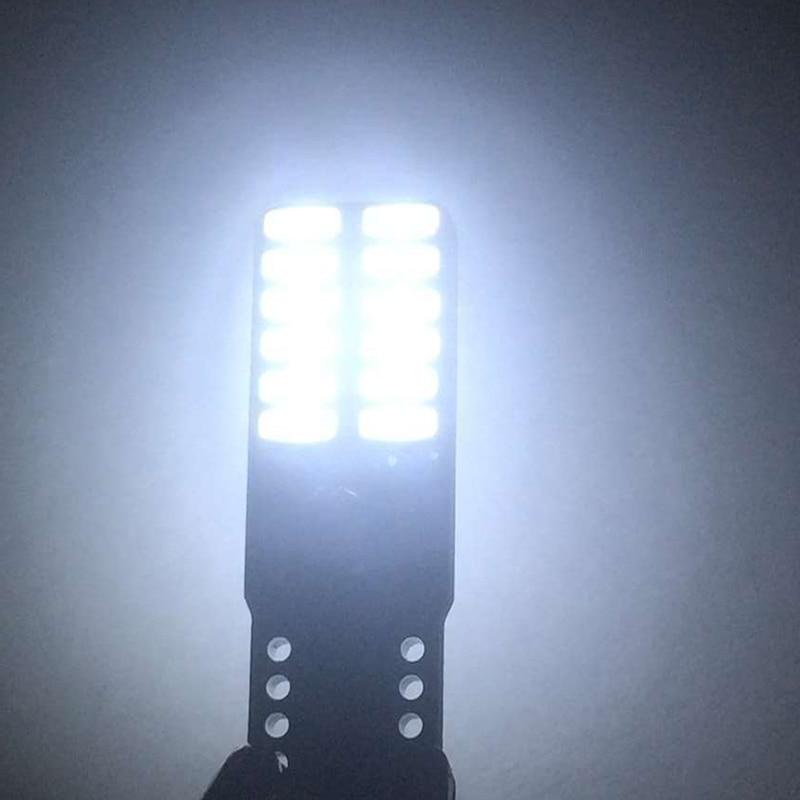 2 τεμάχια Αυτοκίνητο LED T10 194 W5W Canbus 24 SMD - Φώτα αυτοκινήτων - Φωτογραφία 5
