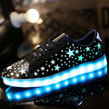201 Fashion basket Led shoes for adults Men Luminous light up shoes for adults glowing chaussure led femme zapatillas deportivas
