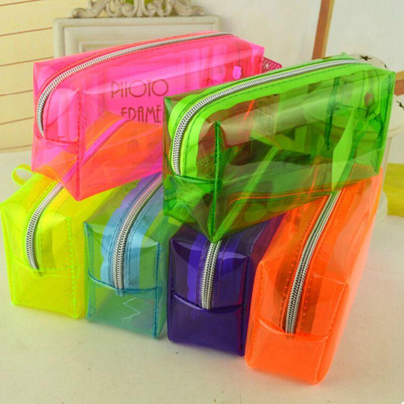 Пенал для канцелярских товаров, прозрачный чехол для ручек, сумка для хранения студенческих и школьных принадлежностей, органайзер, дамска...