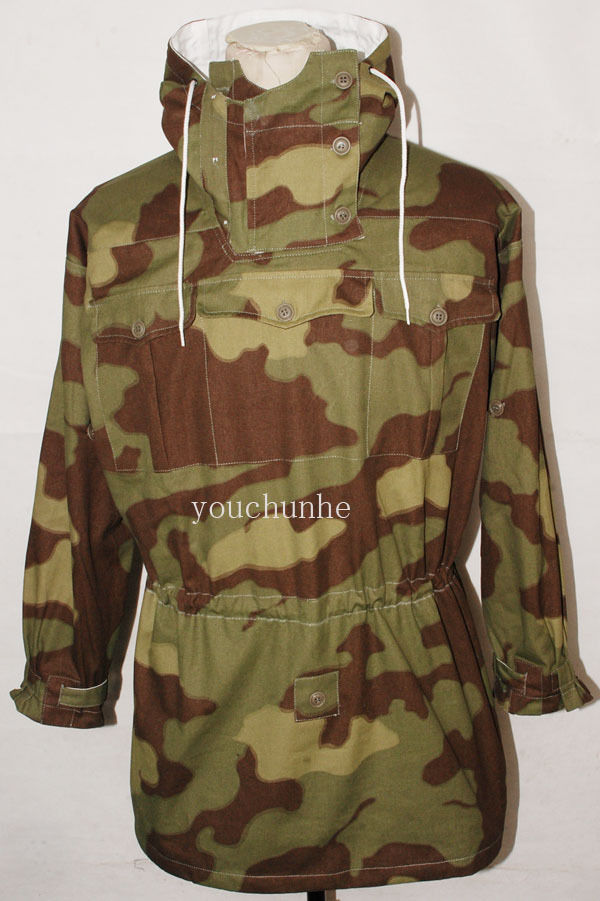 Symbol Of The Brand Wwii German Italian Camo And White Reversible Smock Military 32470 Elegant And Sturdy Package