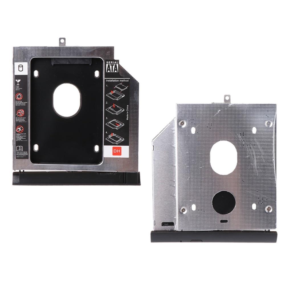 New 2nd SSD HHD Hard Drive Caddy Tray Bracket for Lenovo Ideapad 320 320C 520 330 330-14/15/17 B5400 GUE0N DU8A5SH