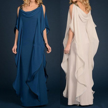 New Champagne Navy Blue Mother Of The Bride Dresses Long Chi