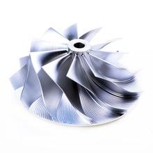 Mitsub*shi TD05 TD06 Turbo Compressor billet wheel Garrett 60-1 11 blade # 405-9901D-660 billet turbo compressor wheel mitsu ishi l200 4dr6t 2 5l td04 7b 31 8 49 mm 405 9901d 412