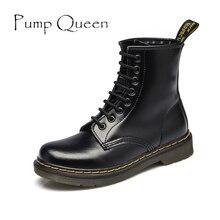 Мартин обувь для женщины мотоцикл плоские ботинки 2015 осень зима женщин кожа свободного покроя обувь панк голенищем мужчин размер 43 44 обувь женская сапоги зимние женские туфли мужская обувь