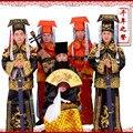 Пекинская опера одежды человек элегантный ученый мужская одежда премьер-министр Hanfu костюмы китайская национальная традиционная одежда
