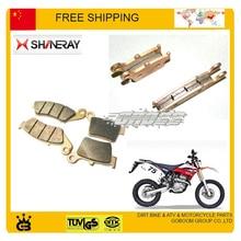 Shineary X2 X2X 250cc передние и задние дисковые Тормозные колодки полный комплект 4 шт. аксессуары для мотоциклов