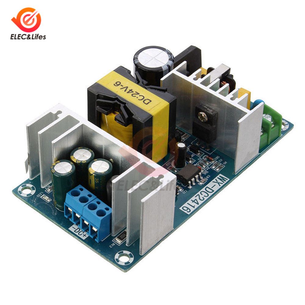 AC-DC <font><b>Power</b></font> <font><b>Supply</b></font> Module AC 100-240V to DC <font><b>24V</b></font> 9A 150W Switching <font><b>Power</b></font> <font><b>Supply</b></font> Board Output Current 6A~9A overvoltage protection image
