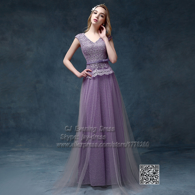 long india mother oriental evening dresses V neck lace exquisite ...