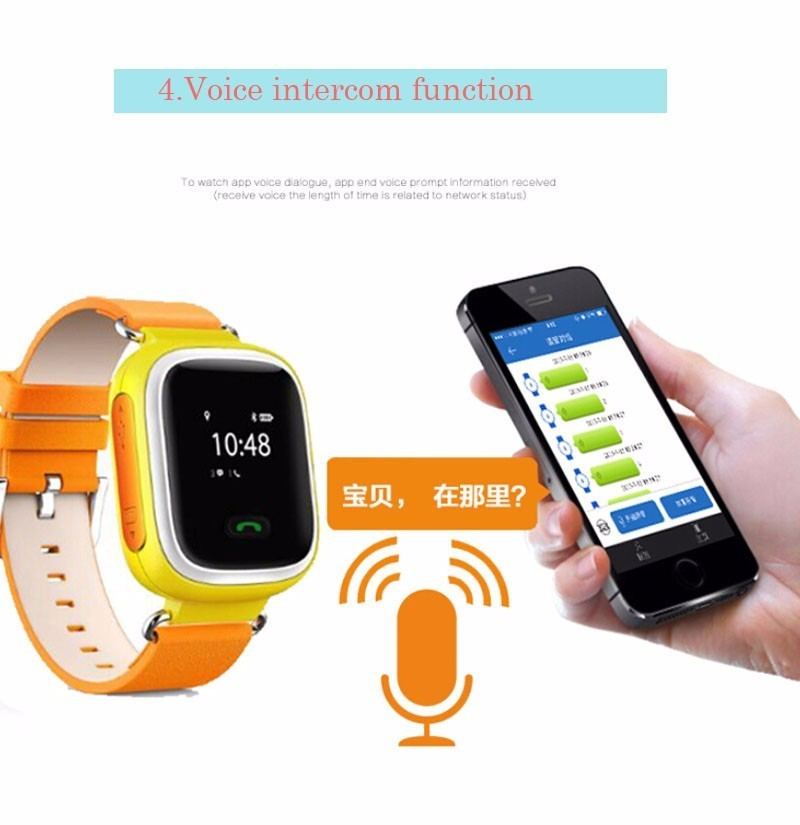 2016 paragon kid smart watch