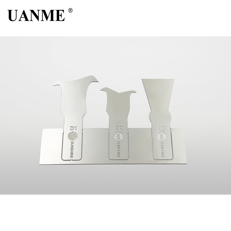Купить с кэшбэком UANME  IC Chip Knife Motherboard Remove Glue PCB Thin Blade For iPhone A8 A9 A10 CPU RMA Knives Tool