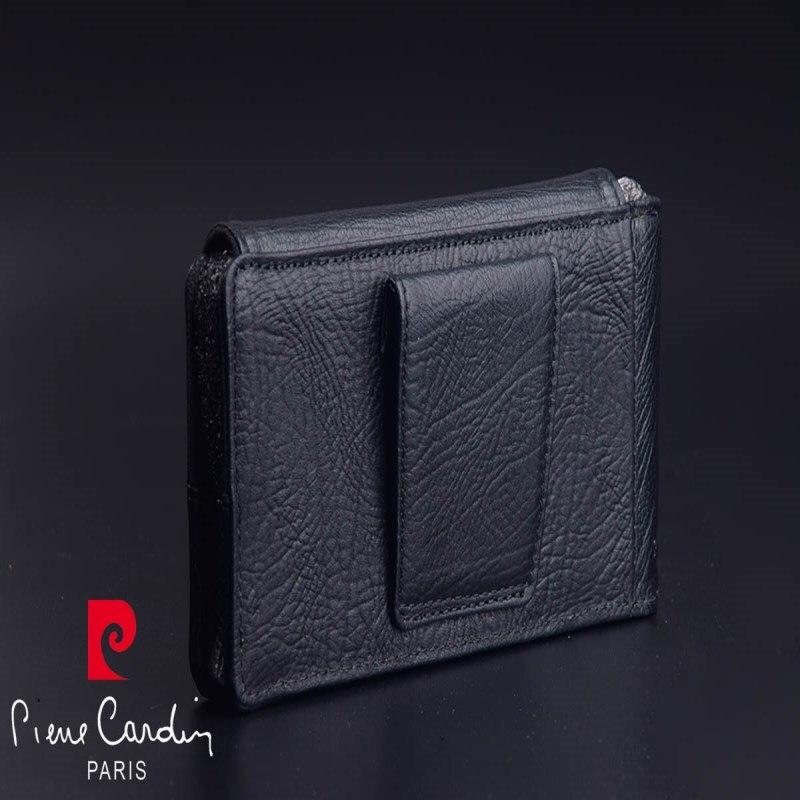 Pierre Cardin Pour Xiao mi mi 9 mi 8 Cas Véritable Ceinture en cuir Clip Case Couverture Pour Xiao mi mi 8 mi 9 Téléphone Sac Anti automne - 3