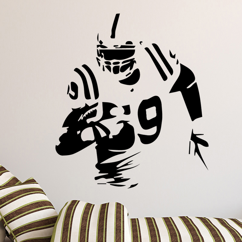 Booter Wall Art Sticker Decal Home Wall Decoration for Boys Room living room Accessories Wall poster image