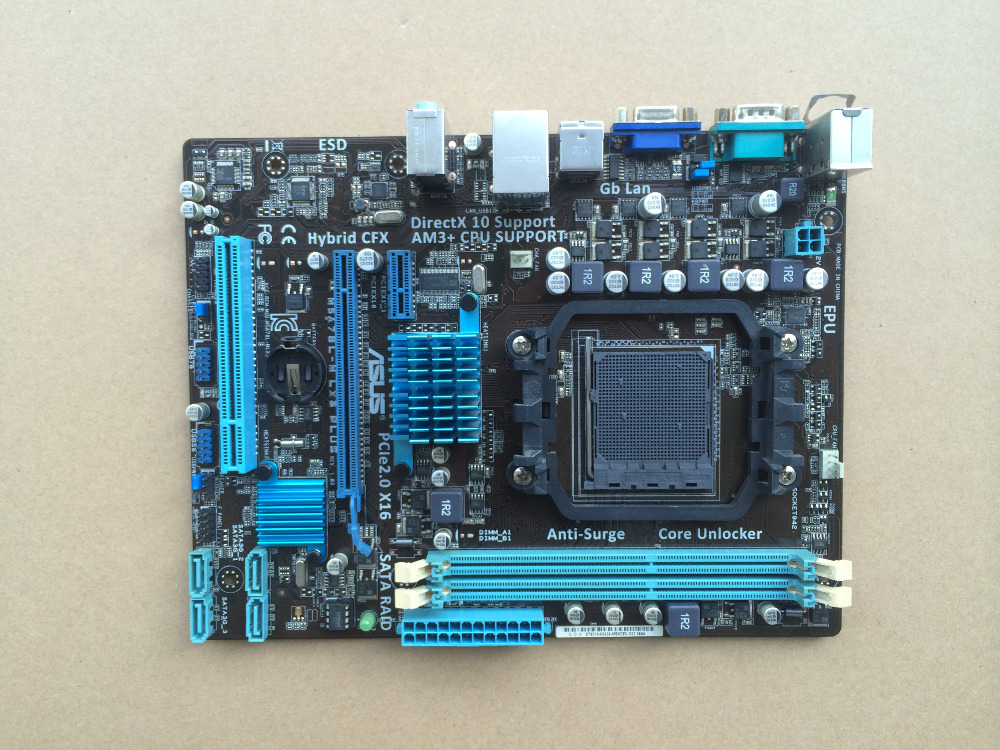 Free shipping original motherboard for ASUS M5A78L-M LX3 PLUS Socket AM3+DDR3 USB2.0 SATAII 16GB Desktop MotherboardFree shipping original motherboard for ASUS M5A78L-M LX3 PLUS Socket AM3+DDR3 USB2.0 SATAII 16GB Desktop Motherboard