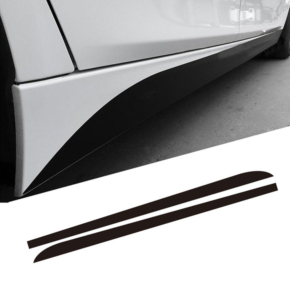 2.05/2.15/2.3M M SPORT Performance Side Stripe Skirt Sill Decal Car Sticker for BMW F30 F10 F11 F01 E60 E61 E90 E91 Car Styling car styling auto amg sport performance edition side stripe skirt sticker for mercedes benz g63 w463 g65 vinyl decals accessories