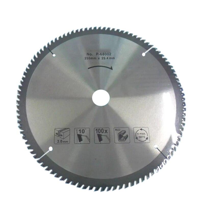 LIVTER 10' Inch  Carbide Alloy Saw Blade High-speed Machine Cutting Aluminum Alloy, Etc.