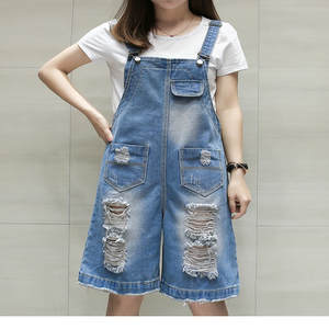 9f6182afcad Negash Rompers Denim short Women Jumpsuits Overalls