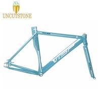 Висп 999 фиксированный Шестерни рама для велосипеда Гладкий сварочный дорожный велосипед кожух из алюминиевого сплава Односкоростной велос