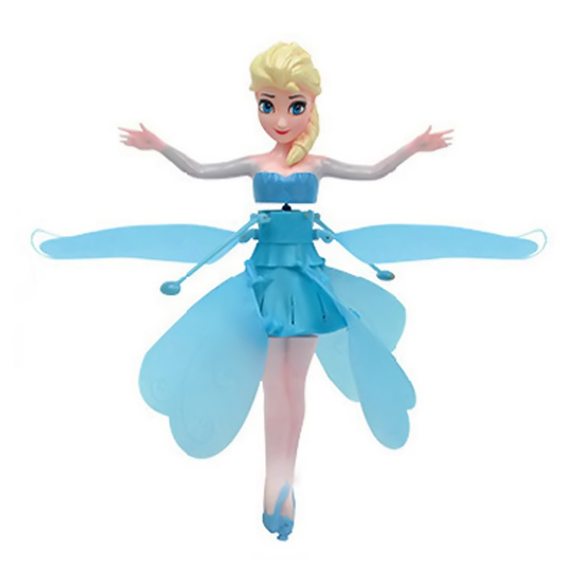 Bonecas de controle remoto para as Name : Flying Fairy Elsa Toys