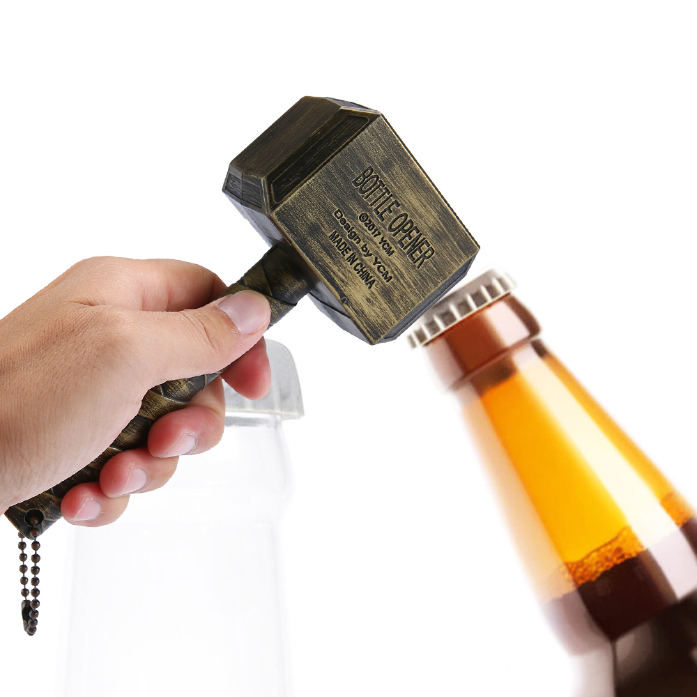 hammer of thor shaped beer bottle opener and beverage wrench jar openers bar tools