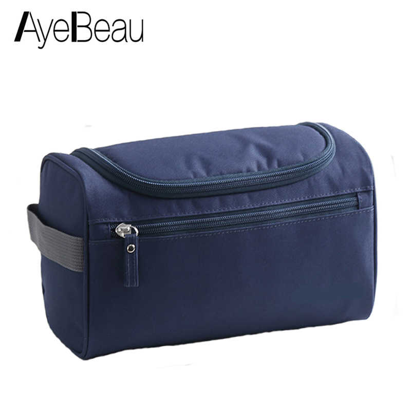 71e7fdccf27e Vanity Women Men Toilet Toiletry Kit Cosmetic Makeup Make Up Bag Case For  Travel Organizer Pouch